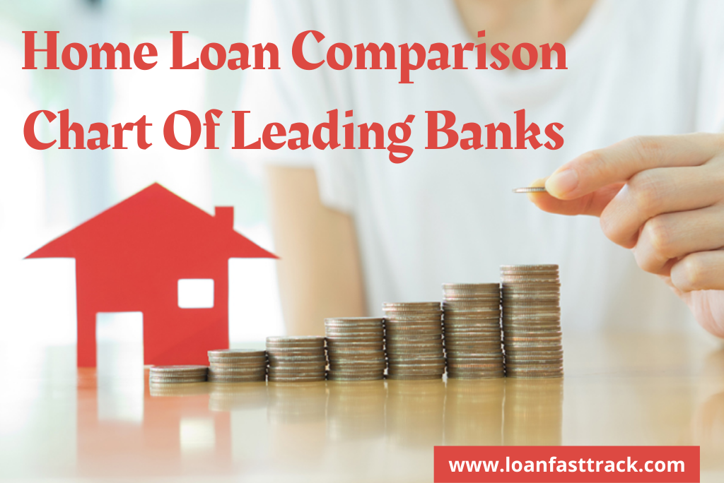 Home Loan Comparison Chart Of Leading Banks